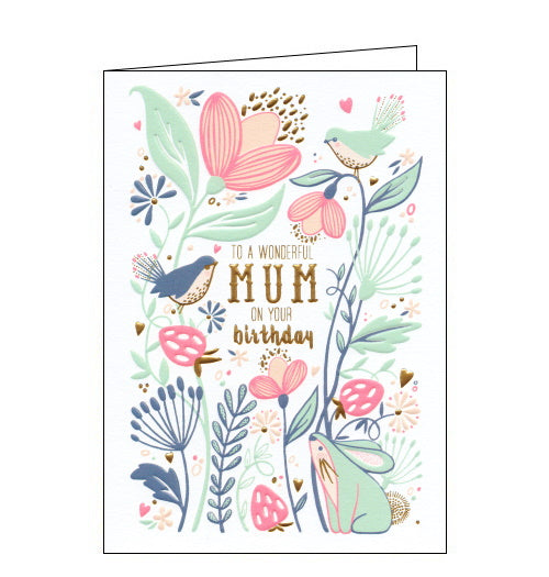 Art File mum on your birthday card