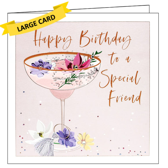 Belly Button bellybutton card special friend birthday card