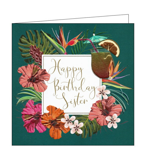 Belly Button cards sister birthday card