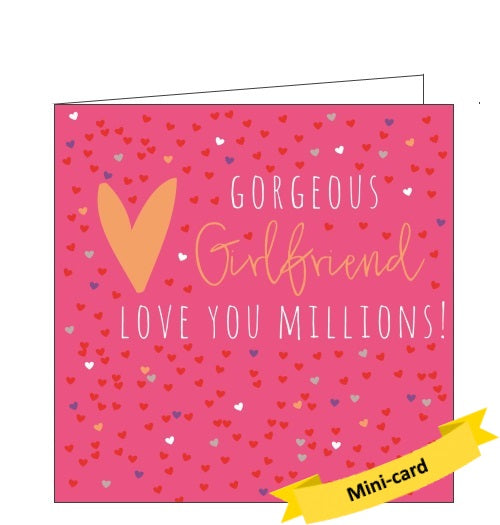 Belly Button bellybutton gorgeous girlfriend card Nickery Nook
