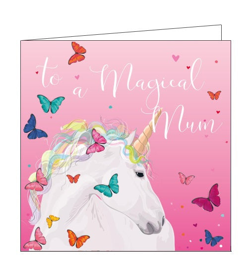 Belly Button bellybutton unicorn magical mother on mother's day card Nickery Nook