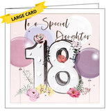 Belly Button luxury daughter 18th birthday card