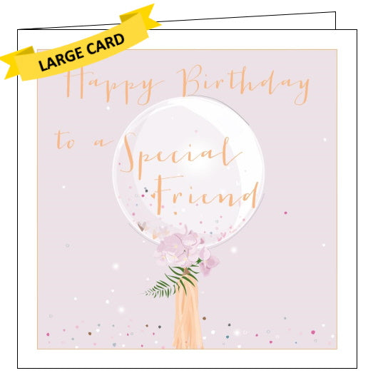 Belly Button luxury special friend birthday card