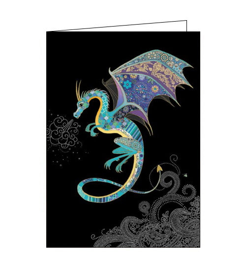 Bug Art Jane Crowther chinese dragon blank card