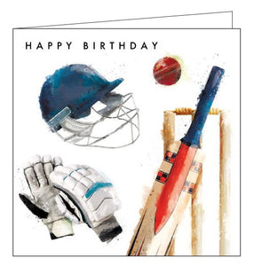 Card Mix Just Josh cricket Happy Birthday card Nickery Nook