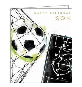 Card Mix Just Josh football Happy Birthday son birthday card Nickery Nook