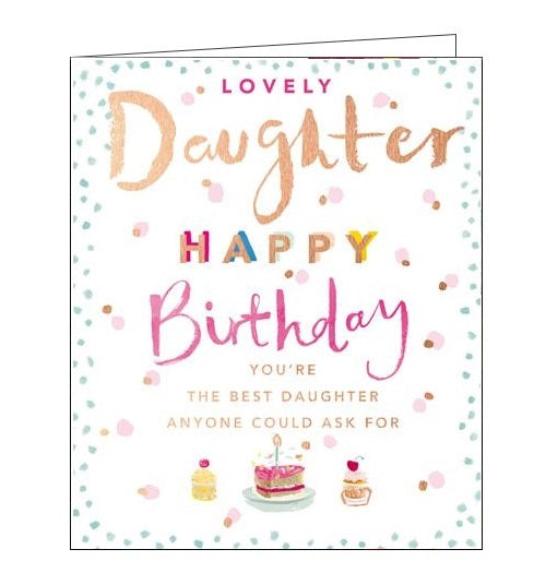 Card Mix Kith and Kin Happy Birthday Daughter card Nickery Nook