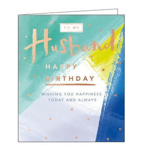 Card Mix Kith and Kin To My husband Birthday card Nickery Nook
