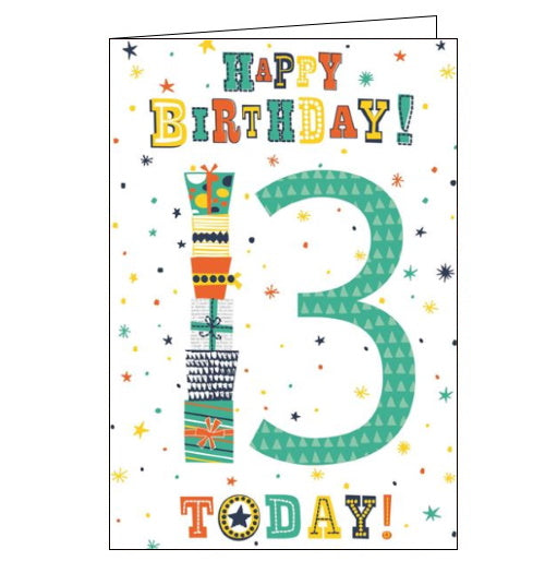 Cherry Orchard 13th birthday card