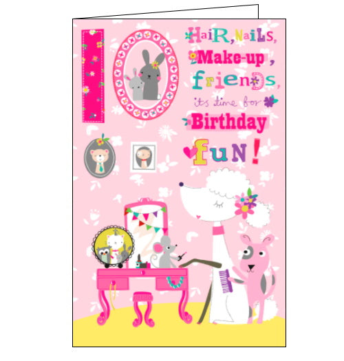 Cherry Orchard pampering 10th birthday card Nickery Nook