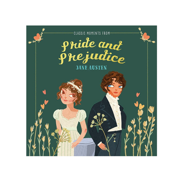 Short and sweet, this this lovely very abridged version of Jane Austen's timeless classic Pride and Prejudice features all your favourite scenes illustrated by Jocelyn Kao. An ideal introduction to a much loved novel, or as a gift for a Jane Austen fan.  This book measures 15cm x 15cm and contains 40 pages.