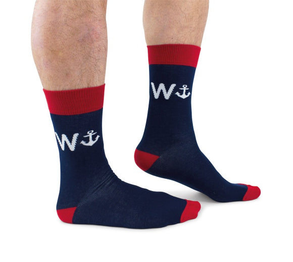 Cockney Spaniel wanker socks for him gift for him socks for him funny socks Nickery Nook