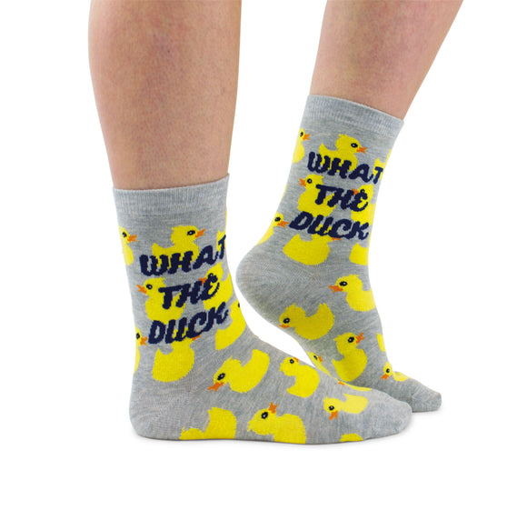 Cockney Spaniel womens socks gifts for her what the duck socks Nickery Nook