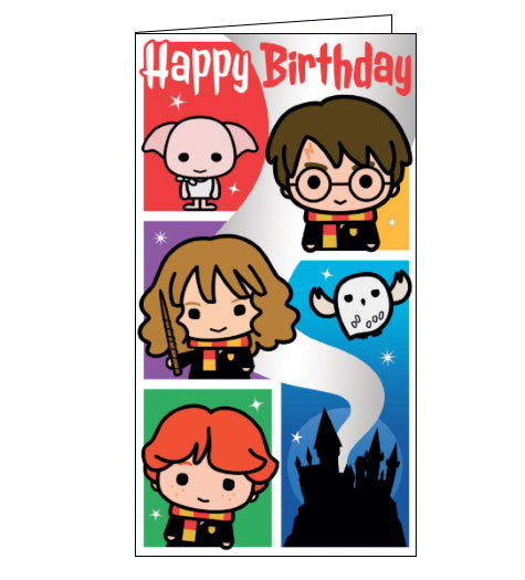 Danlio harry potter birthday card