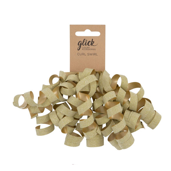 Gold Curl Swirl - Gift Wrapping