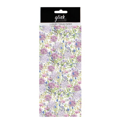 Glick luxury floral tissue paper
