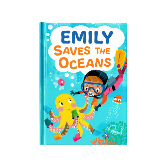 Emily Saves the Oceans - children's book