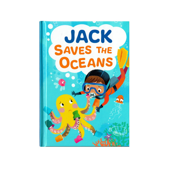 Jack Saves the Oceans - children's book