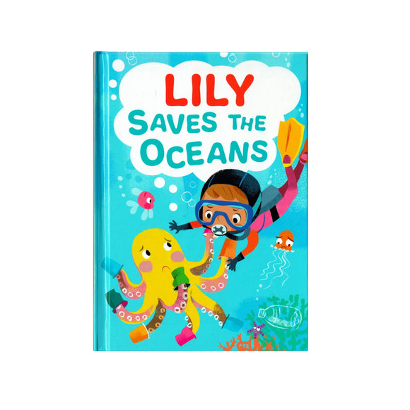 You can lead the charge, Lily. It's your time to be brave. Be the Guardian of the Seas and save the rolling waves.  These personalised story books are both fun and educational. Written by J. D. Green, with illustrations by Ela Smietanka this children's story book makes you the star with an important story about saving the oceans and understanding the cost of single-use plastics.