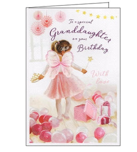 ICG For a special granddaughter birthday card Nickery Nook