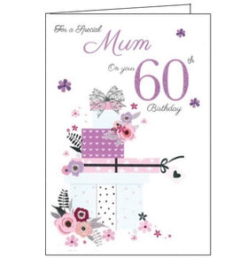 ICG For a special mum on your 60th birthday card Nickery Nook