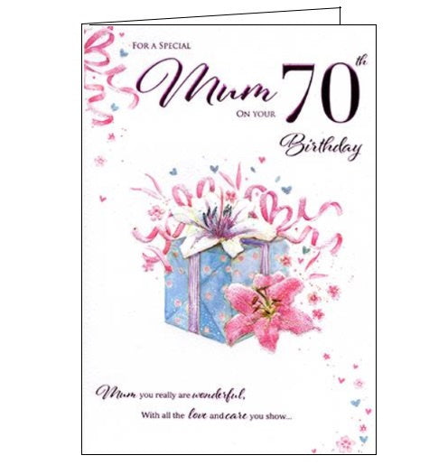 ICG For a special mum on your 70th birthday card Nickery Nook