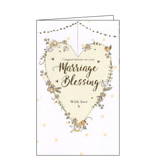 ICG congratulations on your marriage blessing wedding card Nickery Nook