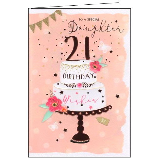 ICG daughter 21st birthday card Nickery Nook