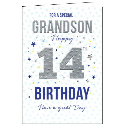 ICG grandson 14th birthday card