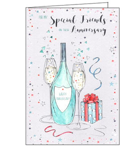 ICG special friends on your anniversary card Nickery Nook
