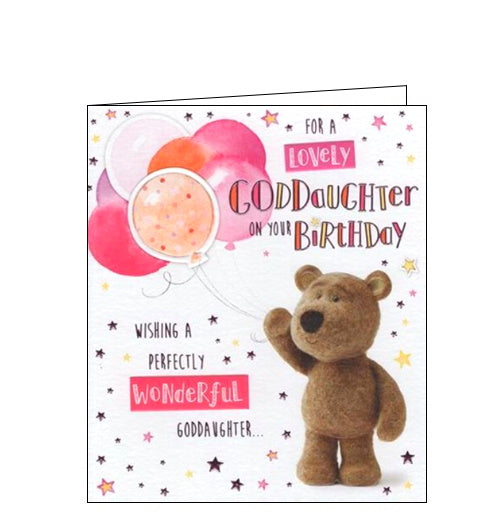 For a Special Goddaughter on your Birthday card