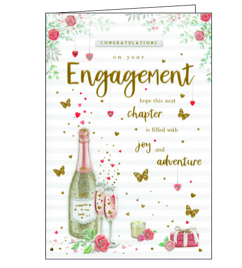 ICG congratulations your engagement card