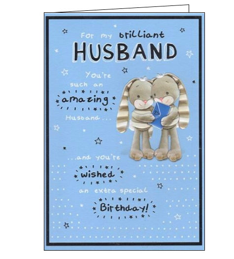 ICG cute husband birthday card
