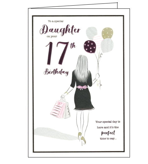 ICG daughter 17th birthday card