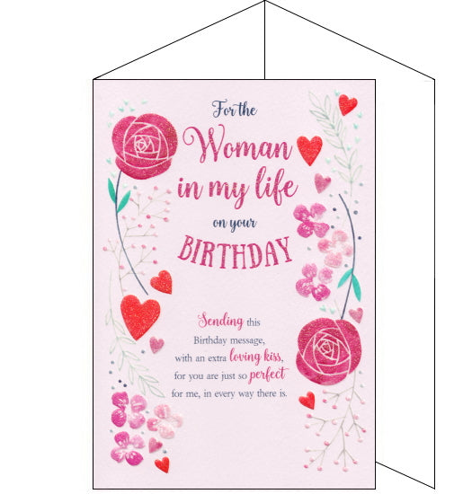 ICG eternal woman in my life girlfriend birthday card
