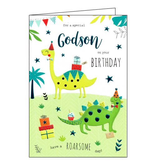 ICG godson birthday card for godson