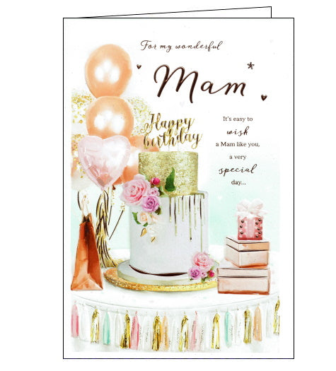 ICG mam birthday card for mam
