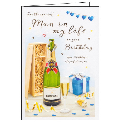 ICG man in my life partner boyfriend birthday card