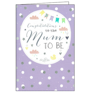ICG mum to be card