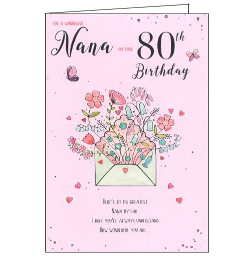 ICG nana 80th birthday card