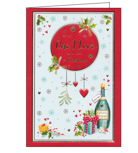 ICG one i love christmas card