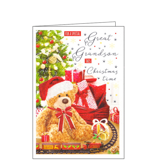 ICG special great grandson christmas card