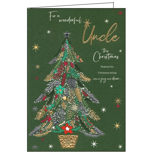 ICG uncle christmas card
