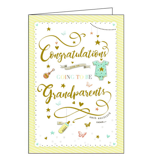ICG you're going to be grandparents card
