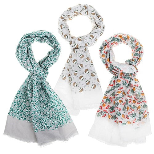 Christmas Scarves - Various Designs