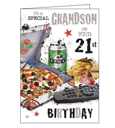 Grandson You're 21 - Jonny Javelin card