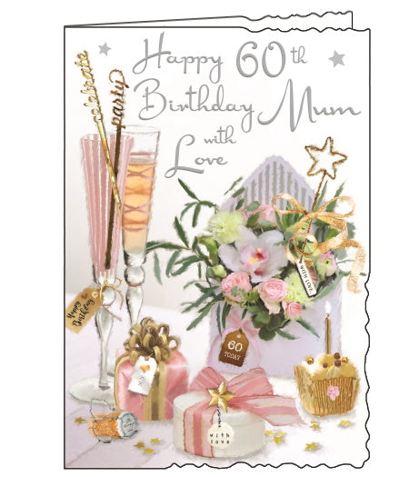 Jonny Javelin mum 60th birthday card