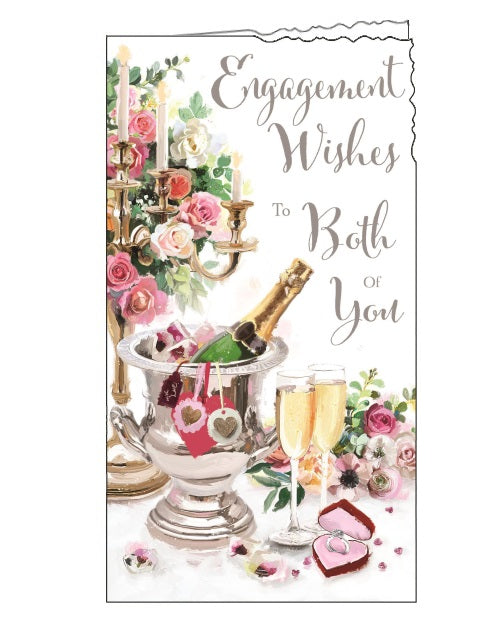 Jonny Javelin congratulations engagement card Nickery Nook