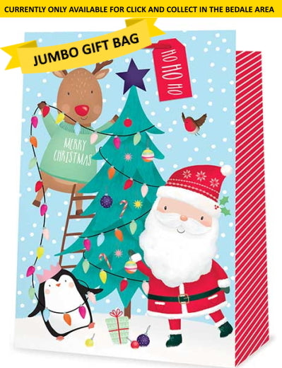 Jumbo Gift Bags - LOCAL COLLECTION ONLY