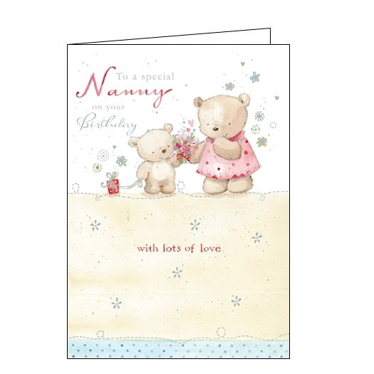 Ling Designs flowers for nanny birthday card Nickery Nook